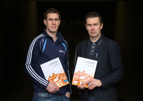 Niall McNamee and Oisin McConville