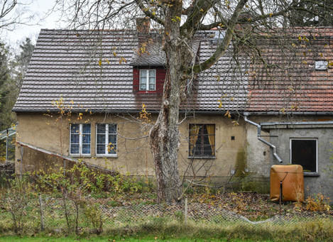 An entire village in Brandenburg is to be auctioned