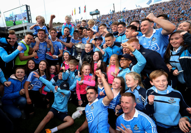 Dublin celebrate with The Sam Maguire