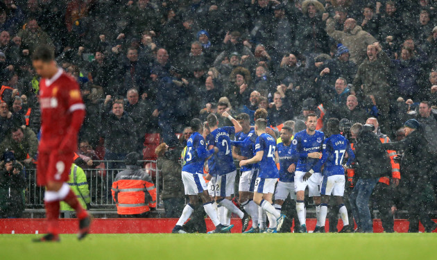 Liverpool v Everton - Premier League - Anfield