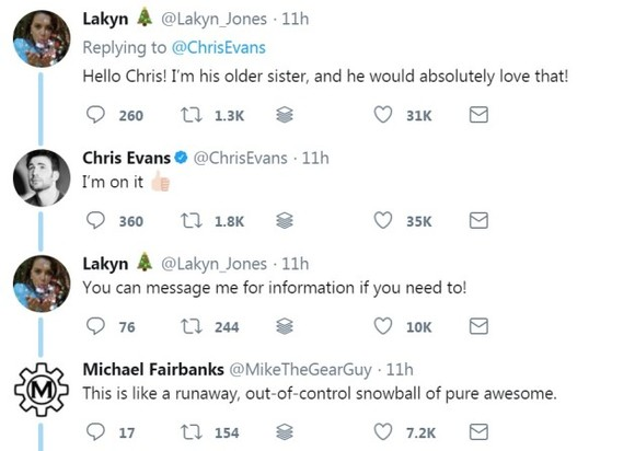 Mark Ruffalo and Chris Evans stepped in with a really sound