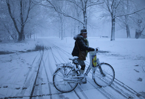 Winter Weather in Amsterdam