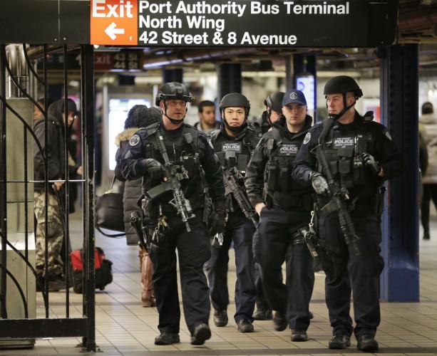 NYC Subway Explosion