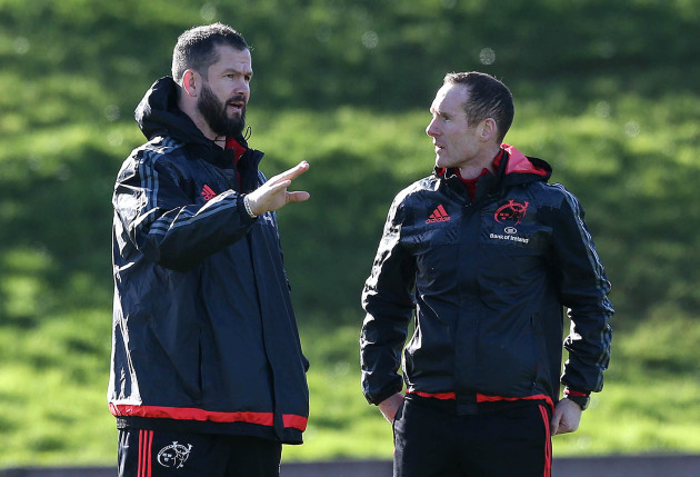 Andy Farrell and Ian Costello