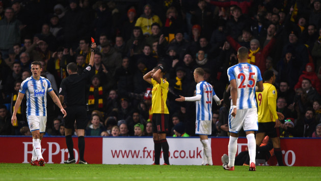 Watford v Huddersfield Town - Premier League - Vicarage Road