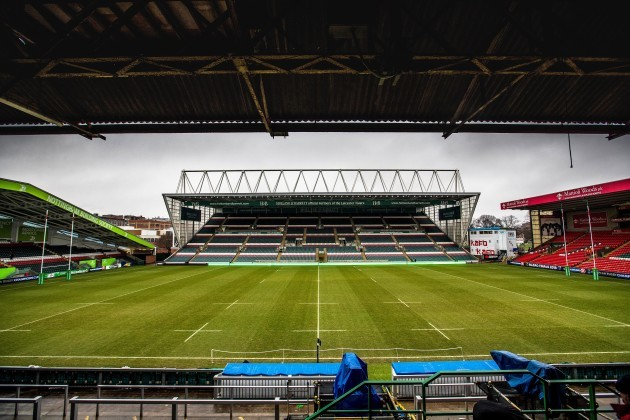 A general view of the Welford Road 17/12/2017