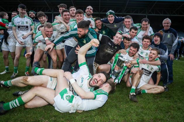 Moorefield celebrate winning The AIB GAA Leinster Senior Football Championship 17/12/2017