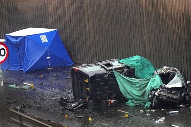 Birmingham multiple death multi-vehicle crash
