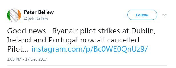 ryanair strike off