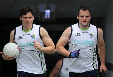 Ciaran McDonald and Michael Murphy