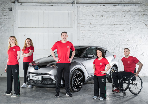 Toyota Ireland Announces New Partnership With Paralympics Ireland