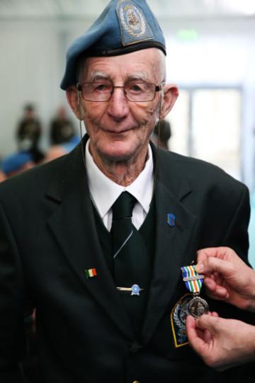 Presentation of An Bonn Jadotville Medals