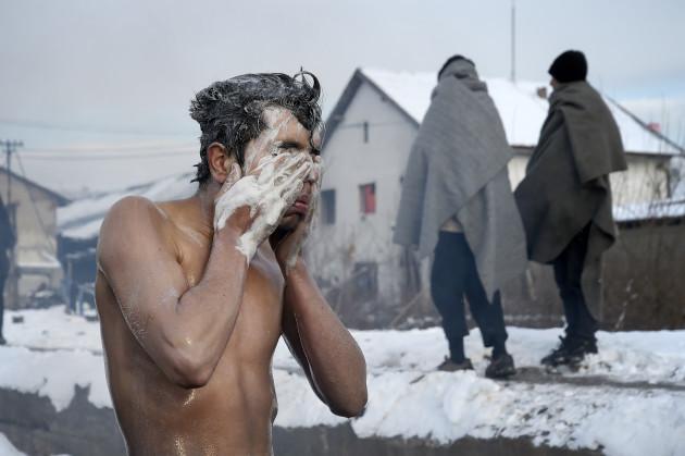 Migrants In Serbia