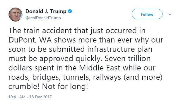donald trump train