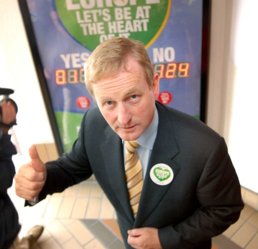 File Photo Enda Kenny today becomes Fine Gael's longest serving Taoiseach