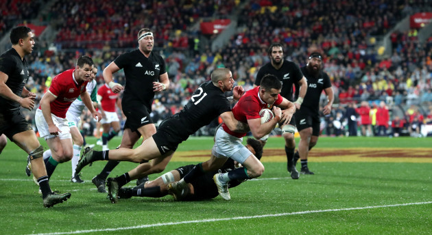 New Zealand v British and Irish Lions - Second Test - Westpac Stadium
