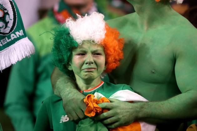 Republic of Ireland v Denmark - 2018 FIFA World Cup - Qualifying Play-off - Second Leg - Aviva Stadium