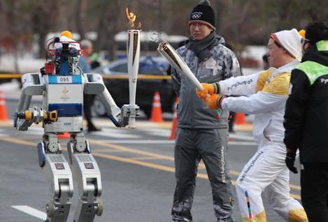 South Korea Pyeongchang Olympics Flame