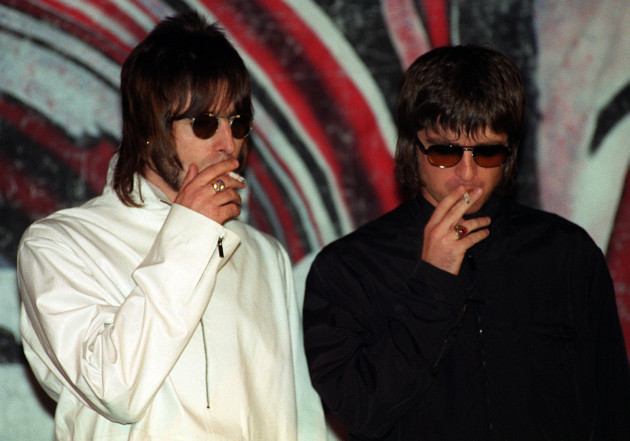 Oasis/Noel and Liam