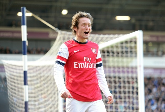 Soccer - Barclays Premier League - West Bromwich Albion v Arsenal - The Hawthorns