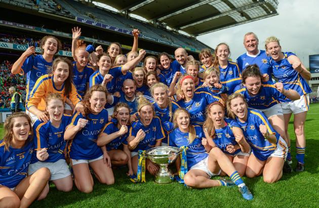Tipperary v Tyrone - TG4 Ladies Football All-Ireland Intermediate Championship Final