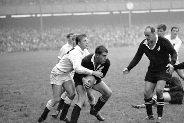 Rugby Union - Tour Match - England v New Zealand - Twickenham