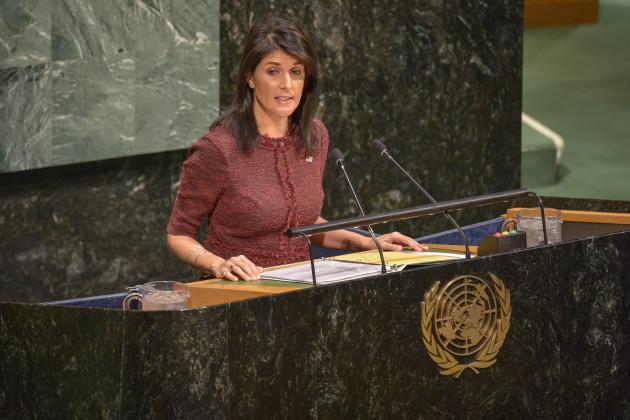NY: Debate Before UN General Assembly Vote on Resolution Regarding President Trump's Jerusalem decision.