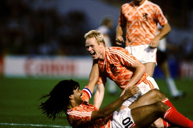 Soccer - European Championships - Semi Final - West Germany v Holland
