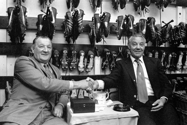 Soccer - Football League Division One - Bob Paisley Retires As Manager - Anfield