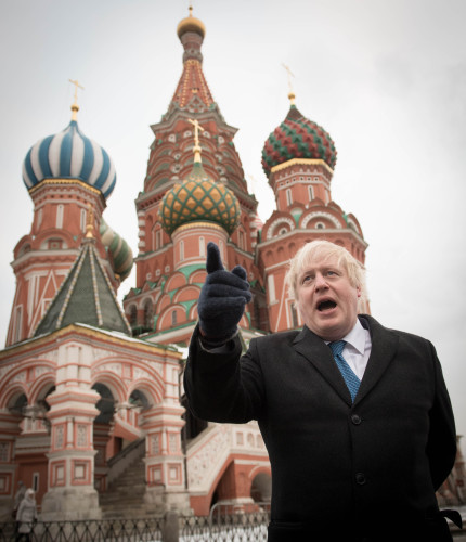 Boris Johnson visit to Russia