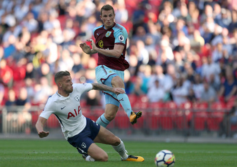 Tottenham Hotspur v Burnley - Premier League - Wembley Stadium