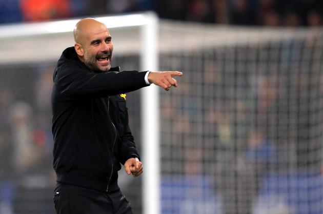 Leicester City v Manchester City - Carabao Cup - Quarter Final - King Power Stadium