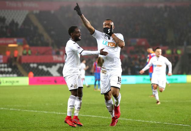 Swansea City v Crystal Palace - Premier League - Liberty Stadium