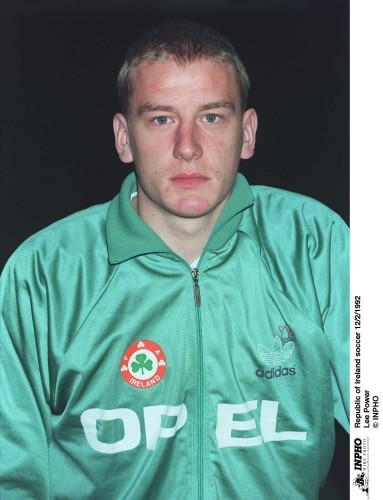 Lee Power Republic of Ireland soccer 12/2/1992