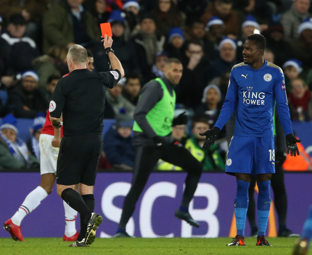 Leicester City v Manchester United - Premier League - King Power Stadium