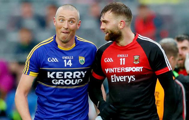 Kieran Donaghy and Aidan O'Shea