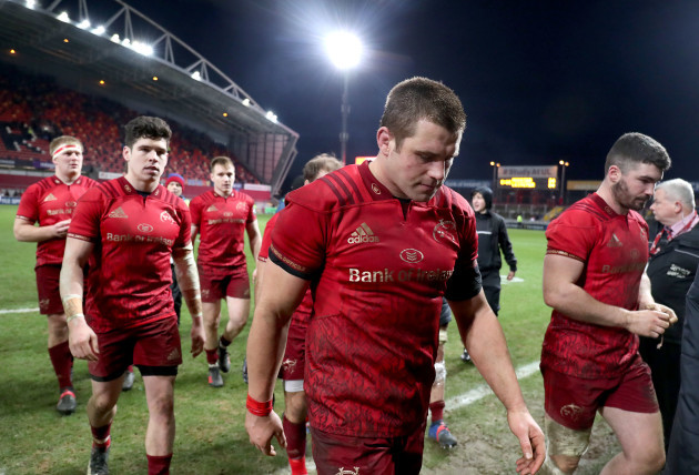 CJ Stander dejected after the game