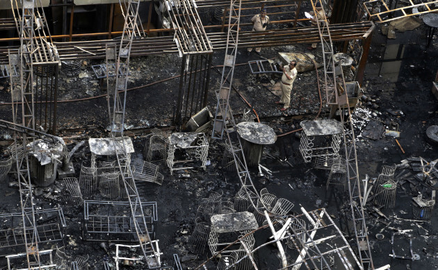 India Building Fire