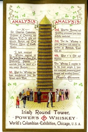 Replica of the O'Connell Monument - Chicago 1897