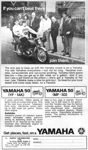 Yamaha 50, 1969