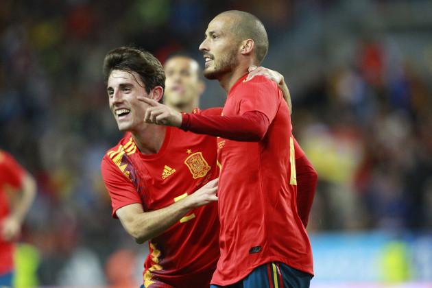Spain: Spain vs Costa Rica