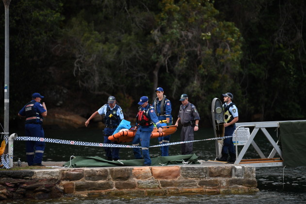 SEAPLANE CRASH RECOVERY SYDNEY