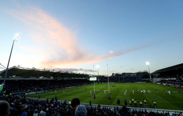 A general view of the RDS