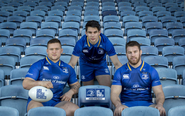 Andrew Porter, Joey Carbery and Sean O'Brien