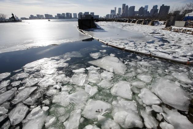 APTOPIX Deep Freeze Massachusetts