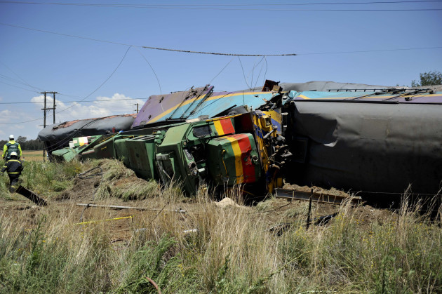 South Africa Train Crash