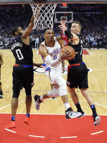Thunder Clippers Basketball
