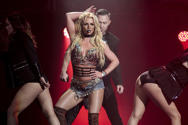 Britney Spears at NOW! 99.7 Triple Ho Show 7.0