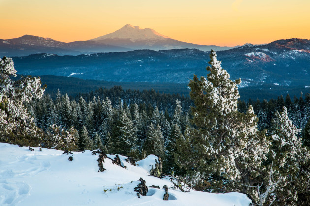 Pacific Crest Trail in the Cascade Siskiyou National Monument