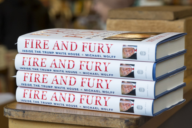 'Fire and Fury' Book Rushed to Publication